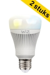 WiZ E27 smart led-lamp Whites 11.5W (60W) (2 stuks)  LWI00006