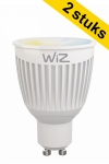WiZ GU10 smart led-spot Whites 6.5W (2 stuks)  LWI00005