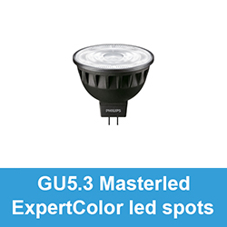 GU5.3 / MR16 Masterled ExpertColor led spots