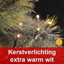 Kerstverlichting extra warm wit