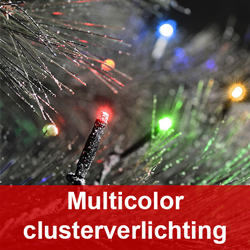 Multicolor clusterverlichting