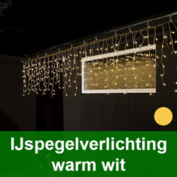 IJspegelverlichting warm wit