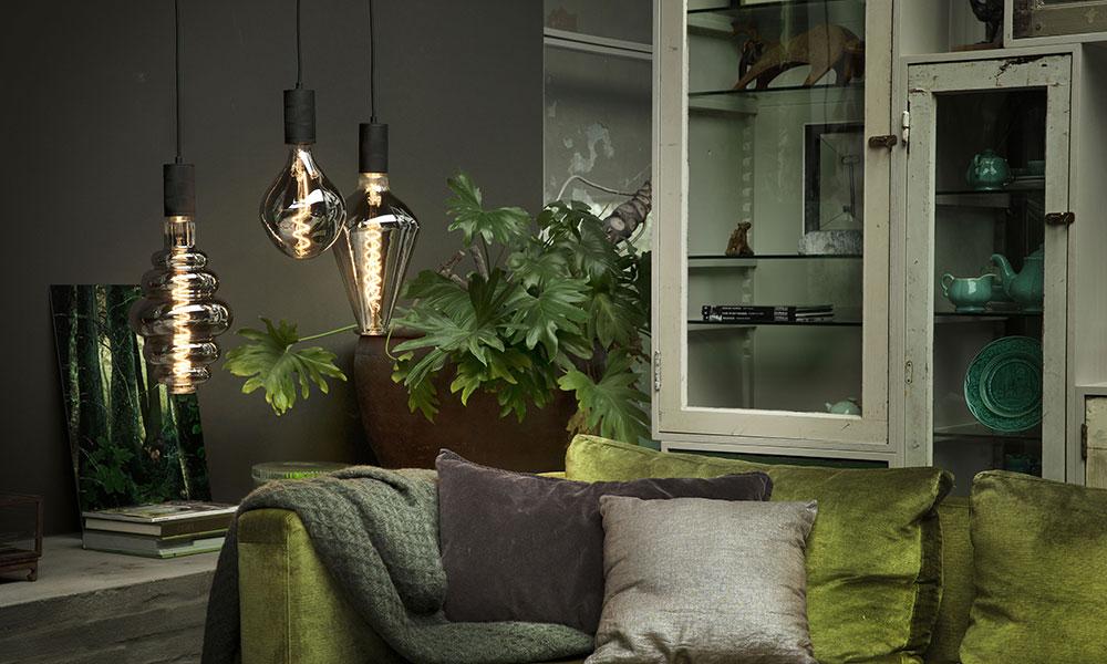 Calex Led E27 Xxl Gold Paris Lamp Dimbaar 6w 2200k 40 5 Cm Lang