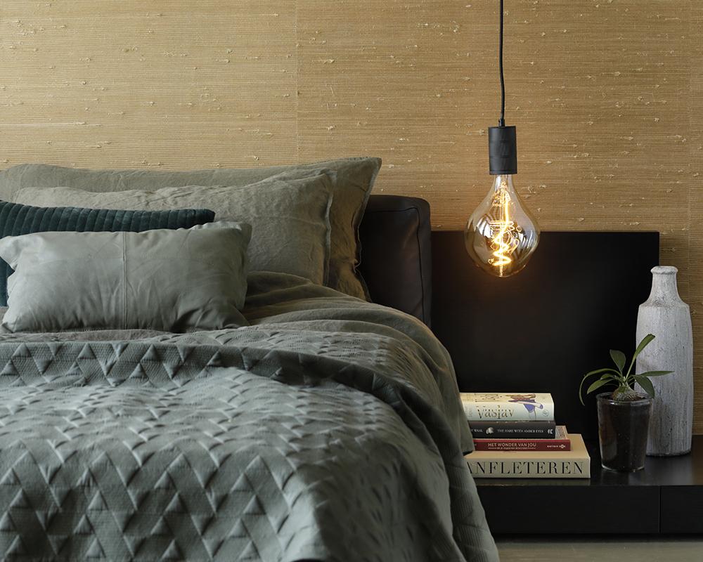 Calex Led E27 Xxl Gold Organic Lamp 6w 2200k 27 Cm Lang Calex