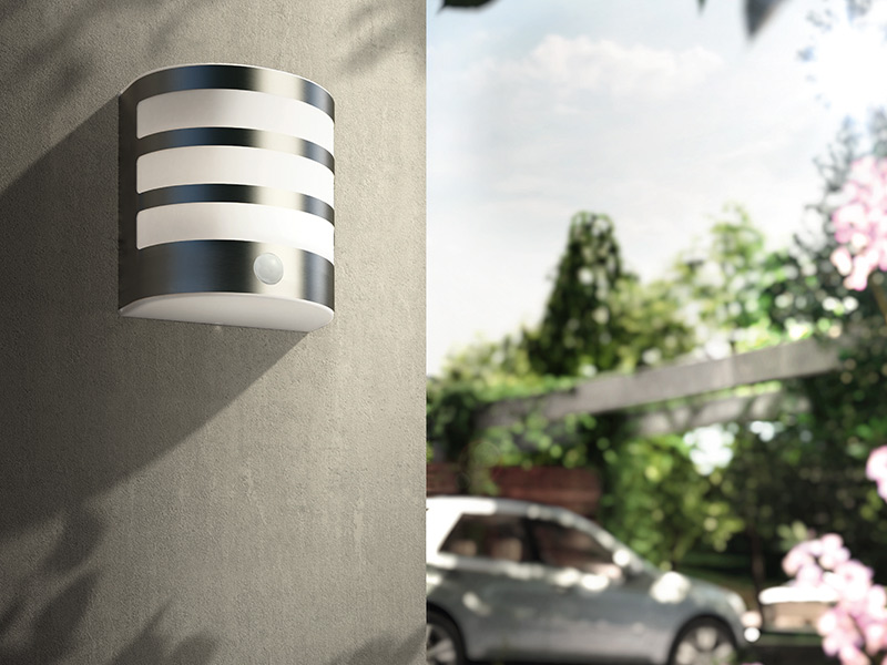 Top Philips myGarden Calgary wandlamp modern met bewegingssensor 3.5W BP99