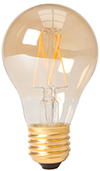 Filament led peer E27 goud