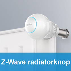 Z-Wave radiatorknop