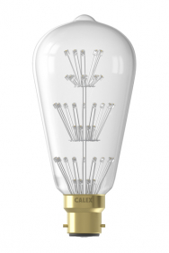Pearl B22 led filament lamp