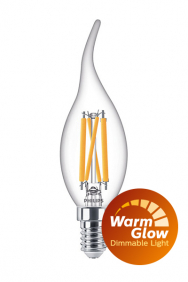 Dimbare sierkaars led filament WarmGlow E14