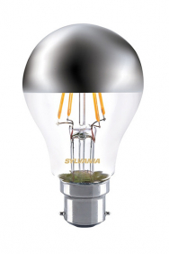 Kopspiegel B22 led filament lamp