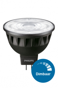 Dimbare GU5.3 / MR16 Masterled ExpertColor led spots