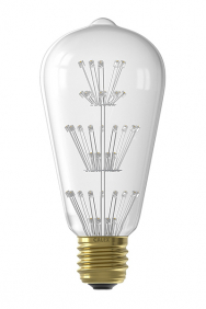 Rustieke led filament lamp Pearl E27