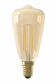 Filament lamp rustiek E14 goud